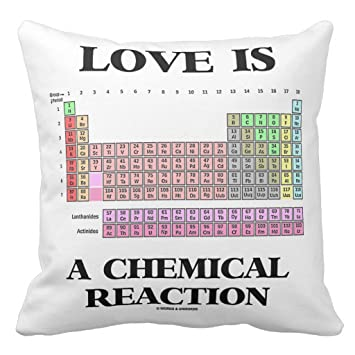 Amazon Zazzle Love Is A Chemical Reaction Periodic Table