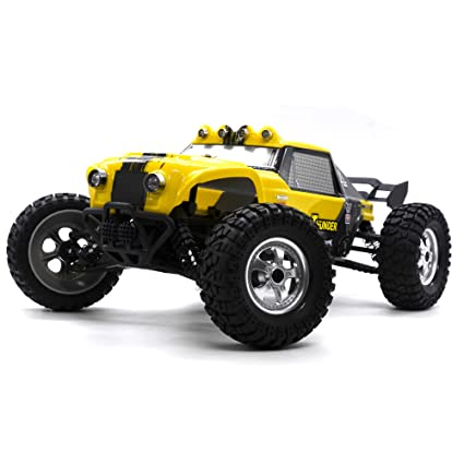 6ee10271d7fd Amazon.com  KELIWOW 12891 4WD RC Monster Truck 1 12 Scale Waterproof ...