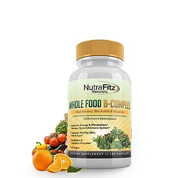 Amazon.com: nutrafitz Naturals Complejo B Vitaminas ...