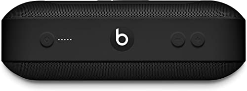 Beats Pill Portable Wireless Speaker - Stereo Bluetooth, 12 Hours Of Listening Time, Microphone For Phone Calls - Black