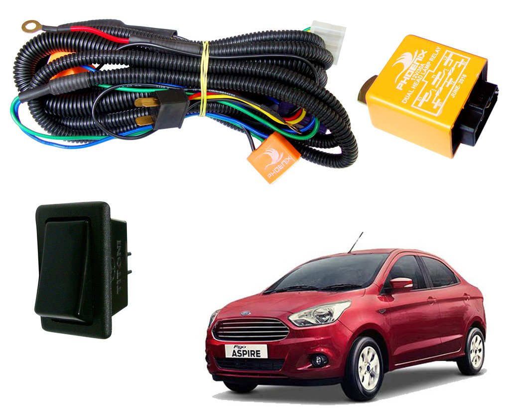 ford aspire wire harness manual e books ford aspire wire harness wiring diagrams simpleauto pearl phoenix headlamp high power 100 90w u0026
