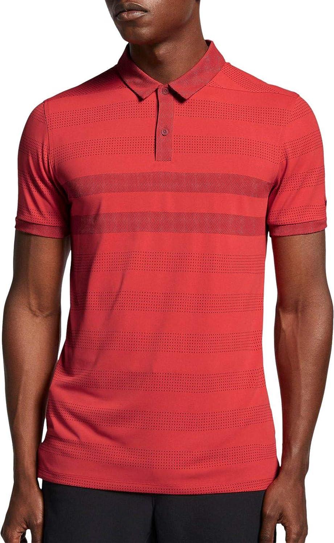 [ナイキ] メンズ シャツ Nike Men's Zonal Cooling Stripe Golf Pol [並行輸入品] L  B07P5RX7JH