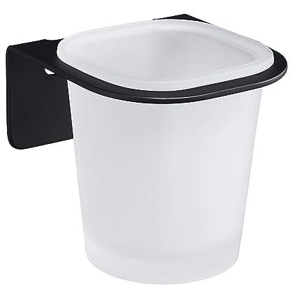 WEISSENSTEIN Vaso de cepillos de Dientes de Pared | Portacepillo de Dientes | Vaso de baño