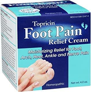 product image for Topricin Foot Pain Relief Cream, 4 oz ( Pack of 4)