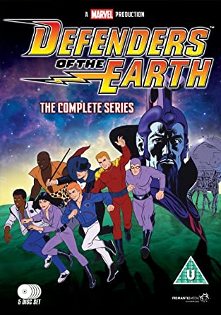 Defenders Of The Earth The Complete Series Dvd Amazon