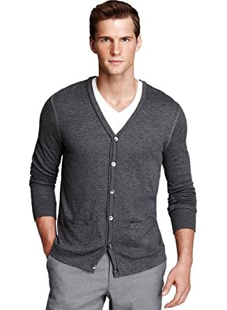b7cdf148e6ec7 Joseph   Lyman Bloomingdales Mens Longsleeve Grey Button Shirt (X-Large