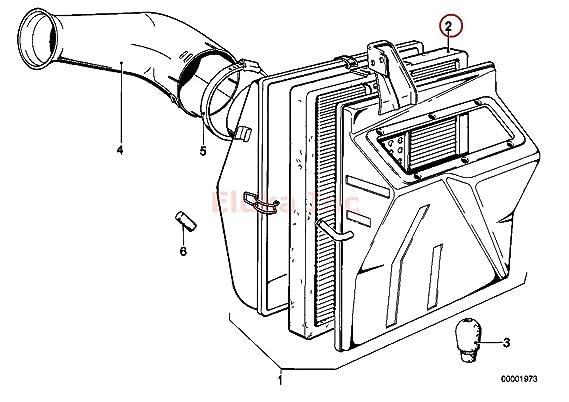 Amazon Com Bmw Engine Air Filter E21 320i Automotive