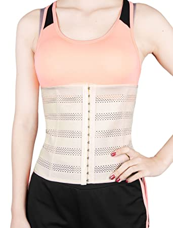 f12a8a3077 uxcell Beige 5XL Size Breathable Elastic Postpartum Abdominal Shaping Belt  Belly Wrapping Shaper Cincher Corset Shapewear
