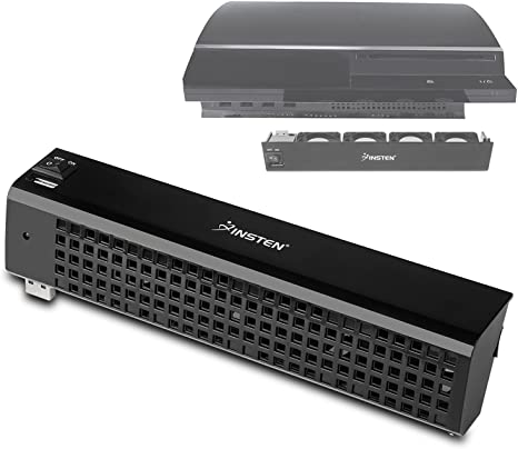 USB insten el ventilador de refrigeración para PlayStation 3: Amazon.es: Videojuegos