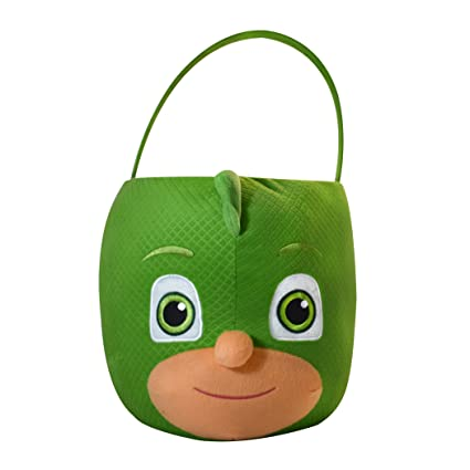 PJ Masks Gekko Plush Basket, Jumbo
