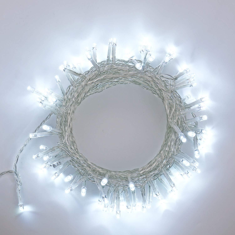 MEDIA WAVE store /® 757198 Stella cadente natalizia luci MULTICOLORE telaio in metallo 65 x 30 cm