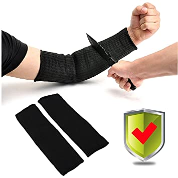 Manguitos de protección para brazos resistentes a la quemadura anti-corte, seguridad contra la