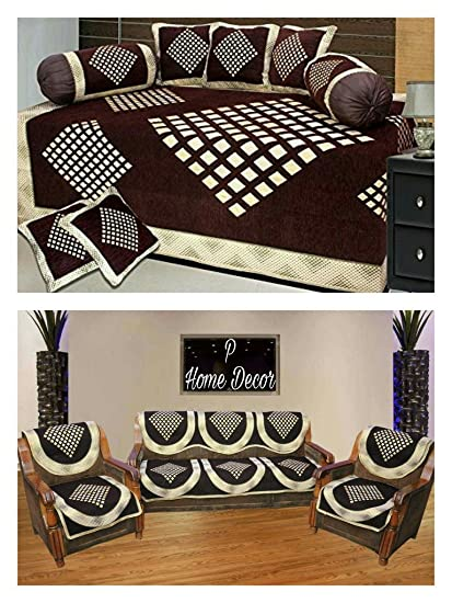 Swell Sofa Cover Set And Diwan Set Combo Lamtechconsult Wood Chair Design Ideas Lamtechconsultcom
