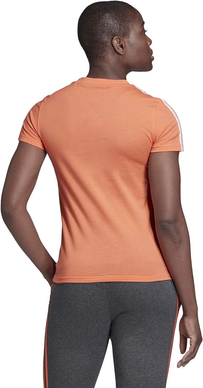 Mujer adidas W E 3s Slim tee Camiseta
