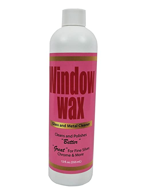 Window Wax Glass & Metal Cleaner