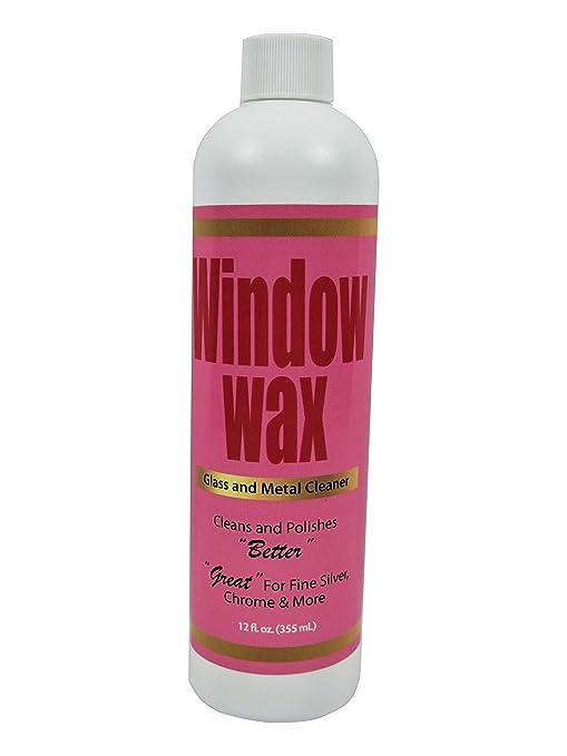 Window Wax Glass & Metal Cleaner