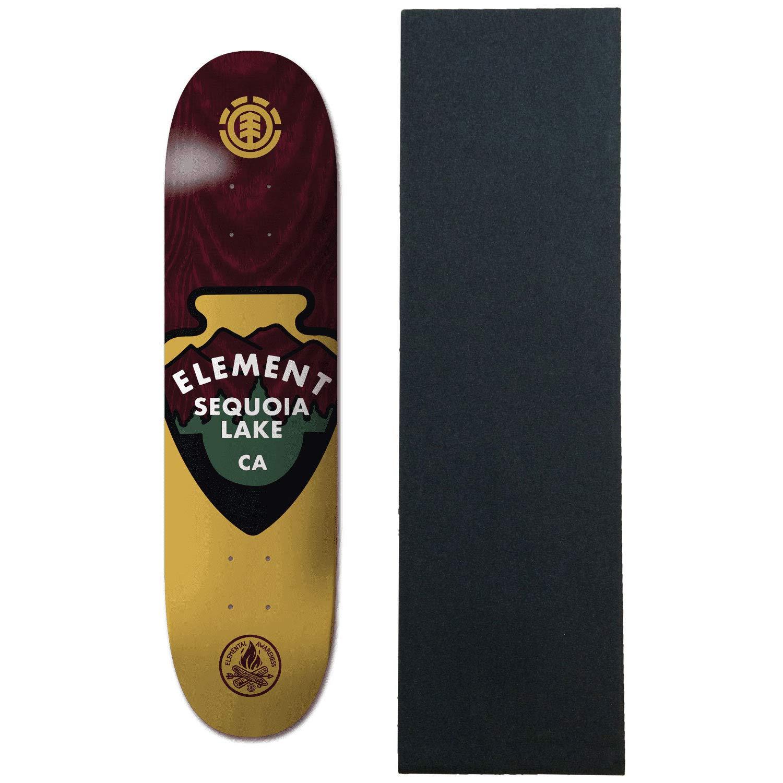 【正規販売店】 Element グリップ付き スケートボード Element デッキ Aware Cali 8.0インチ Cali グリップ付き B07PH1R3YF, ジモクジチョウ:3de887d6 --- kickit.co.ke