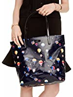 Kate Spade Daycation Bon Shopper Tote Bag Purse in Hot Air Balloon Up & Away Print