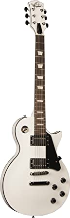 Oscar Schmidt Oe20 Wh Lp Style Electric Guitar   Alpine White by Oscar Schmidt