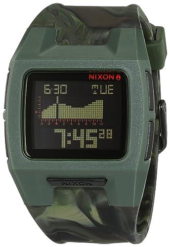Nixon Reloj para Mujer de con Correa en Silicona A2811727-00: Amazon.es: Relojes