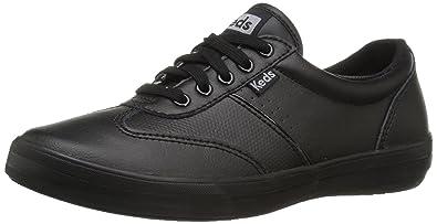 Keds Women's Craze II Leather Fashion Sneaker, Black/Black, ...