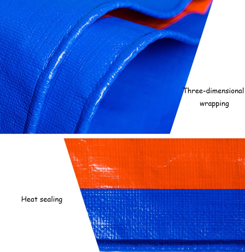 Teloni Accessori Tenda Leggero Universale Blu PE Tarpaulin-Sheet Tarps Tarps Tarps Multifunzione Poncho per Campeggio Pesca giardinaggio-180 g m² Idea per l'escursionismo in Campeggio (Dimensioni   5x7m) | Regalo ideale per tutte le occasioni  | Un equilibrio t d40a84