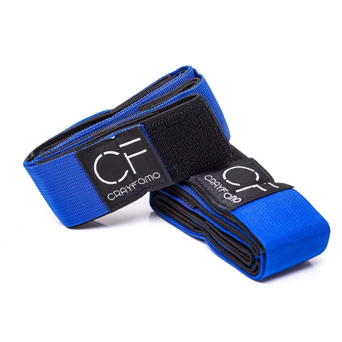crayfomo 4 Legged Race Bands Outdoor Game for Kids Adults Birthday Team Party Games with Carry Bag (Blue)