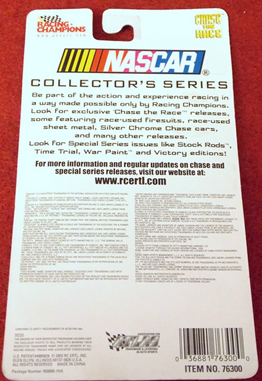 Ward burton Nascar # 22 the Rental store//caterpillar Racing Champions 1:64 Die-cast