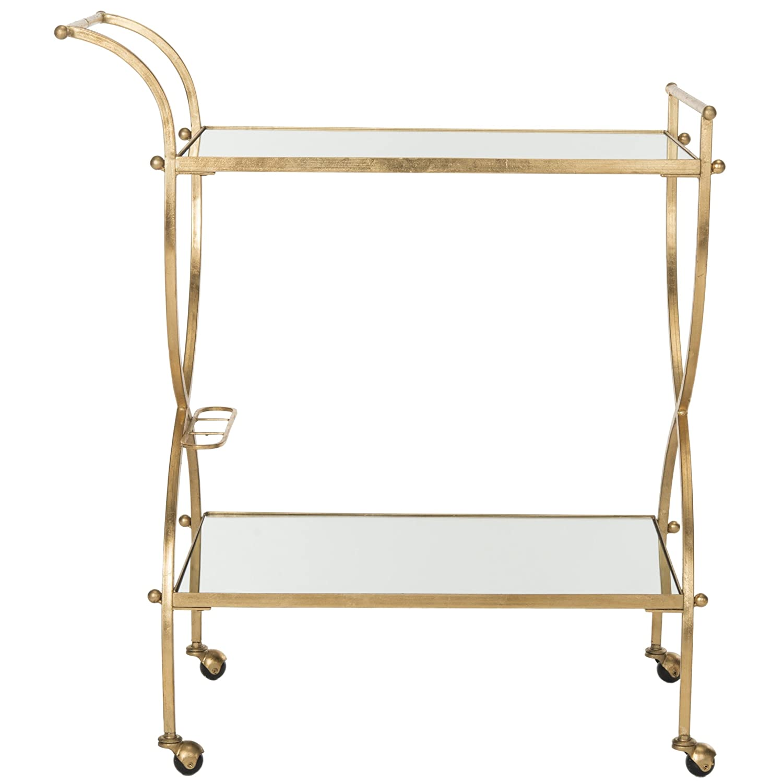 Safavieh Home Collection Lucretius Gold Bar Cart