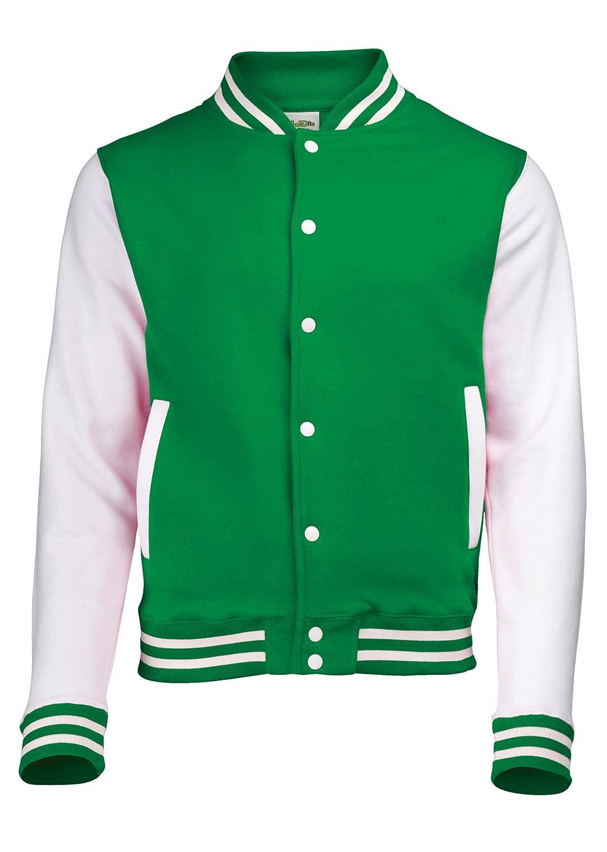 Amazon.com: Awdis Kid's Varsity Jacket: Clothing