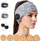 Bluetooth Headphones with 2 Sports Headband for Women & Man, Keymao Sweatband for Sleeping, Workout, Yoga, Running, Exercise Accessories