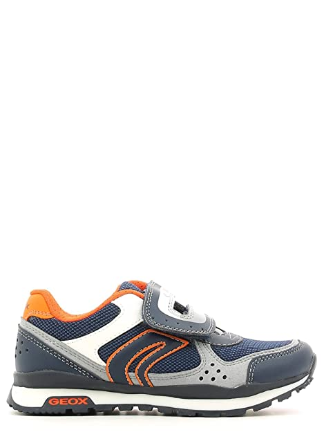 Geox J6215b-01454/C0659 - Mocasines para niño C0659°navy/orange: Amazon.es: Zapatos y complementos