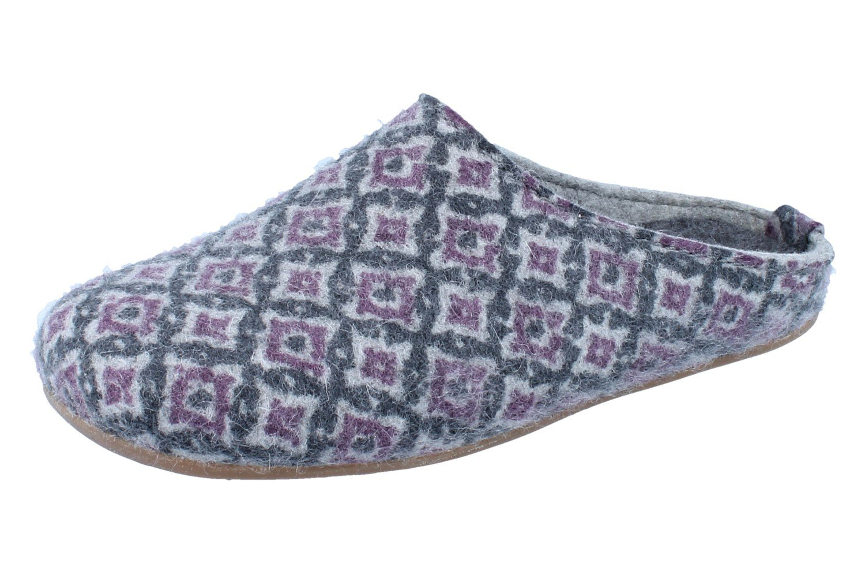 Haflinger 481052 4 - Zuecos para mujer 41 EU|gris