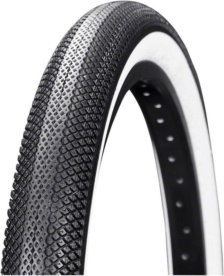 Speedster BMX Tire 20 x 1.75 Folding Bead Black Tread White Vee Tire Co