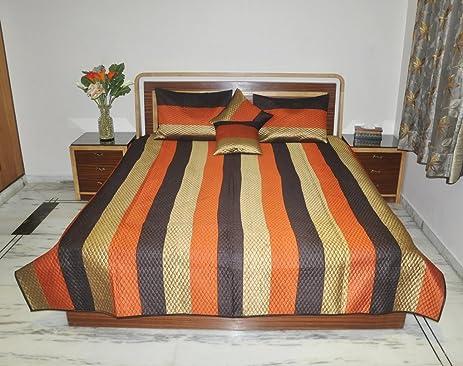 Living Room Decorated Silk Designer Bed Sheets Indian Bedspread