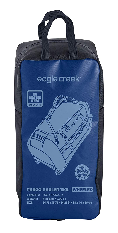 84 cm 129 Liters Arctic Blue Eagle Creek Cargo Hauler Wheeled Duffel 130L Travel Duffle