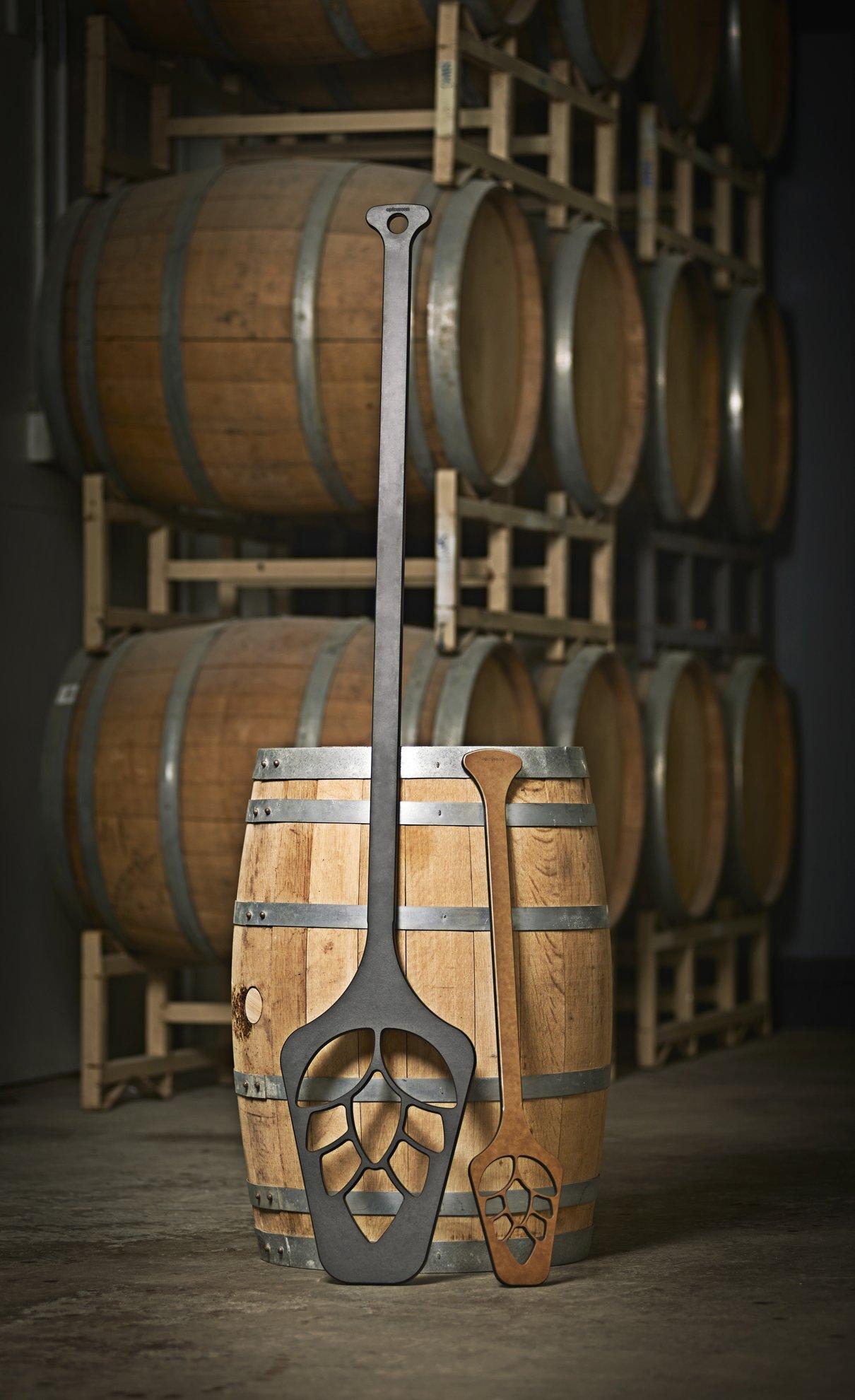 Epicurean Professional-Grade Brewers Mash Paddle (59 X 10 3/4 Inch, Slate/Nutmeg) by Epicurean (Image #3)