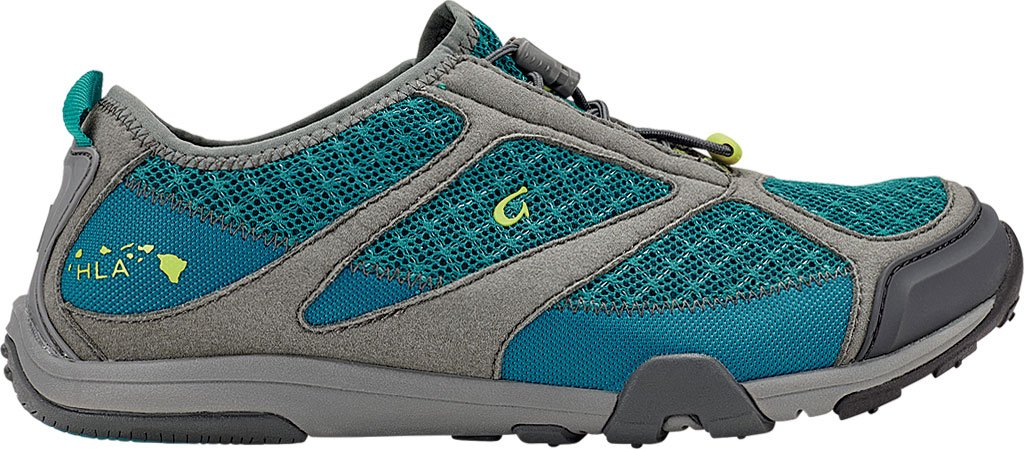 Olukai Eleuトレーナー – Women 's B01HIF63UK 9.5 B(M) US|Sea Green/Charcoal Sea Green/Charcoal 9.5 B(M) US