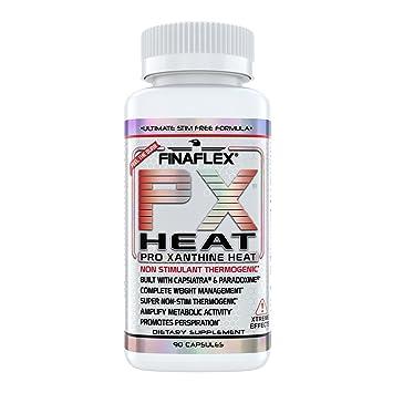 Px Heat 90 Capsules Ultimate Stimulant Free Formula Non Stim Weight Loss Thermogenic Fat Burner