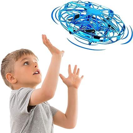 DEERC UFO MINI Drohne UFO Flying Ball Spielzeug RC Quadcopter für Jungen Mädchen