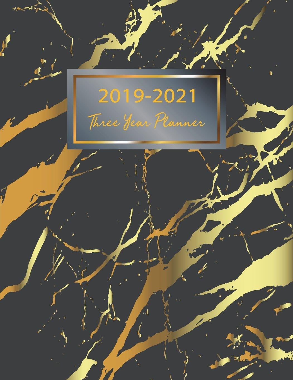 2019-2021 Three Year Planner: 36 Monthly Planner Calendar 3 ...
