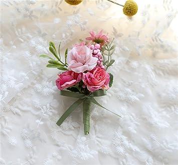Fouriding Brautigam Anstecknadel Boutonniere Boutonnier Braut Blumen