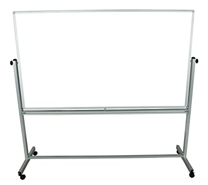 amazon com educational silver framed magnetic dry erase portable