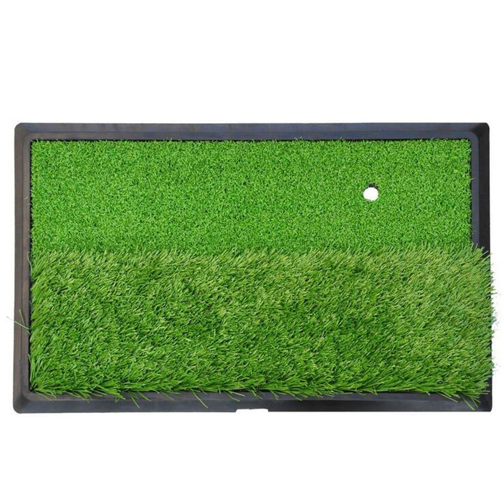 Hyzb Práctica de Golf Mat Golf Training Mat del césped Golf ...