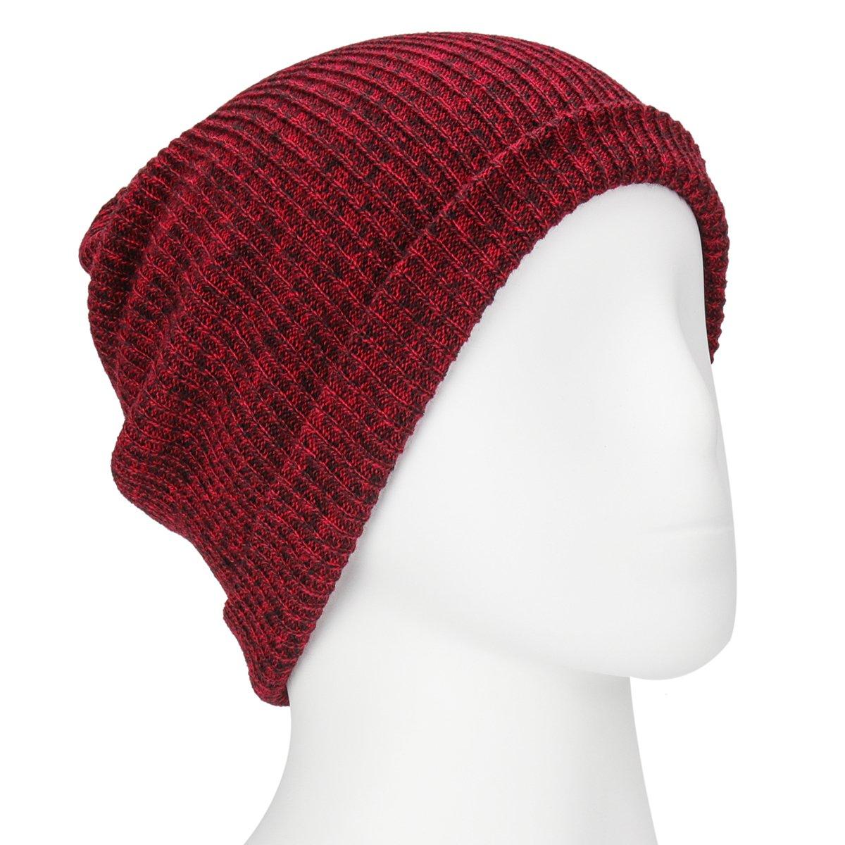 Unisex punto Beanie Sombreros Para Hombres y Mujeres, invierno ...