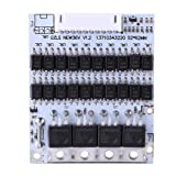 DC42-45V Input Battery Protection BMS PCB Board for 10 Packs 36V Li-ion Cell Max 40A w/Balance
