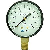 'Manómetro, ng63Ø63mm, 0–10bares, G1/4inferior