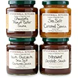 Stonewall Kitchen 4 Piece Chocolate and Caramel Sauce Collection
