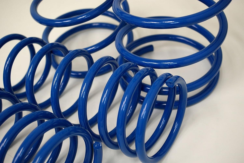 TuningPros LS-017-B Lowering Springs Kit Blue Set of 4