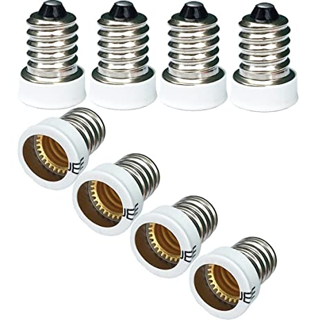 Amazon.com: Qidify - 8 adaptadores de casquillo de bombilla ...